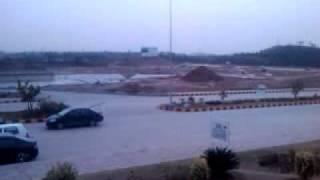 Mini Golf lake in dha 2 ex., work under progress