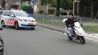 Marokkanen achtervolgd door politie!!