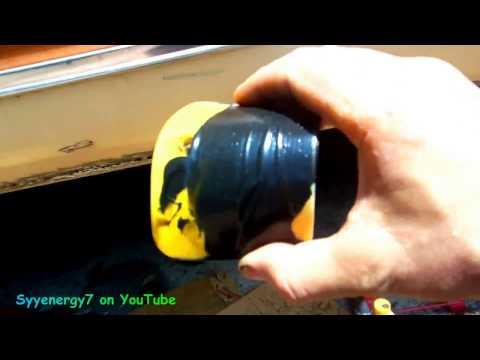 3M Panel Adhesive Rust Hole. 'Hack N' Pack'. Auto Body Repair