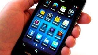 BlackBerry Z10 - полный видео обзор