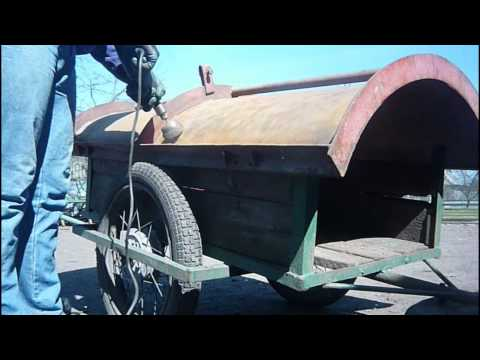 Kupno i remont glebogryzarki UG  część 1