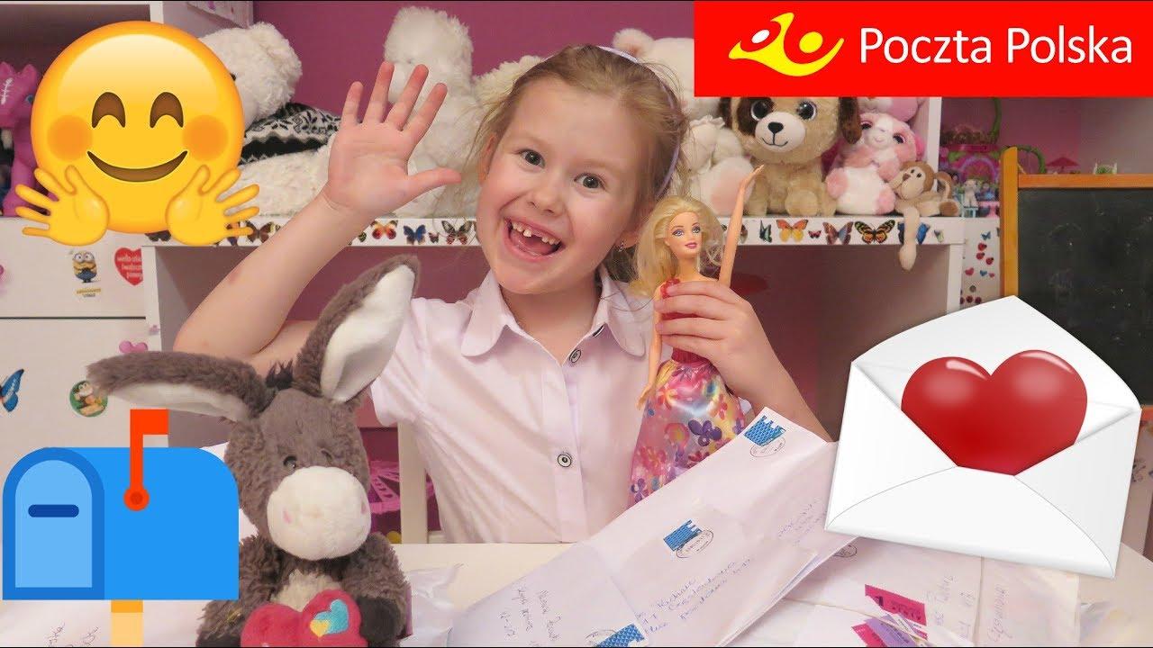 POCZTA OD WIDZÓW #18  Barbie i dużo Filly Baw się ze mną z Lenką