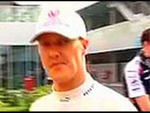 Michael Schumacher returns, world sighs with relief