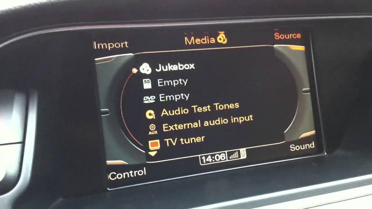 Audi Mmi 3g Bluetooth Audio Solution Via Modified Ipod