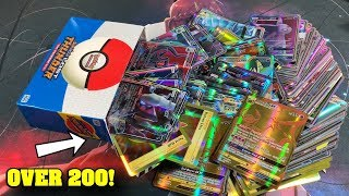 *THE MOST GX CARDS!* This STRANGE Pokemon Box had 200 ULTRA RARES INSIDE!