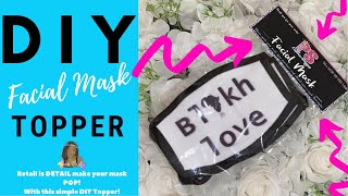 DIY FACE MASK PACKAGING (TOPPER)