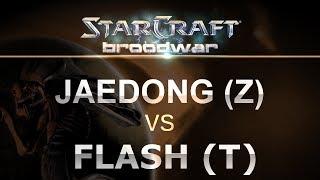 StarCraft - Brood War 2017 - Flash (T) v Jaedong (Z) on Tau Cross