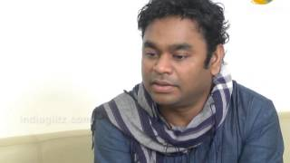 AR Rahman begining day with digital music