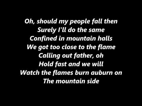 Ed Sheeran I see fire lyrics