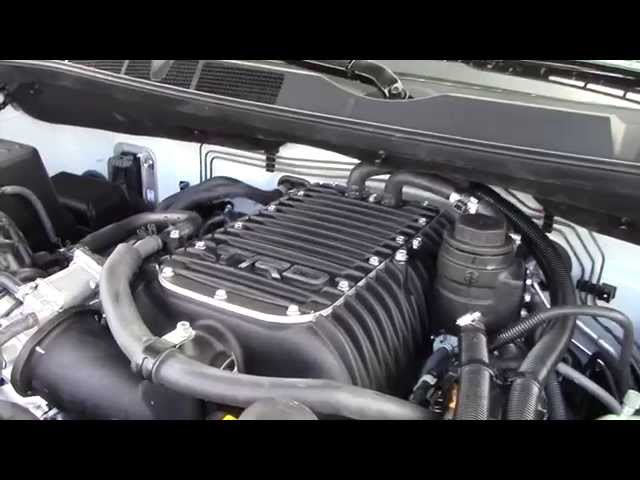 TRD Supercharged Toyota Tundra Platinum - YouTube