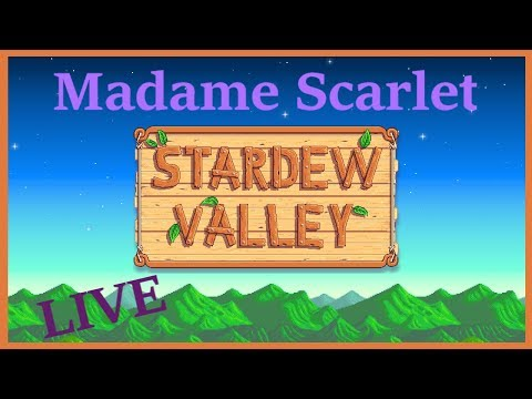 Stardew Valley [PC LIVESTREAM] Polly Oliver tries to save the Community Center