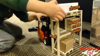 New-Ray Toys RC Forklift Review