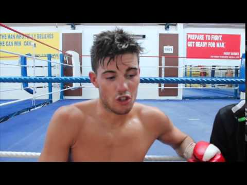DECLAN GERAGHTY POST FIGHT INTERVIEW AFTER EMPHATIC STOPPAGE IN DUBLIN