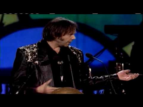Neil Young Inducts Jimi Hendrix 1992
