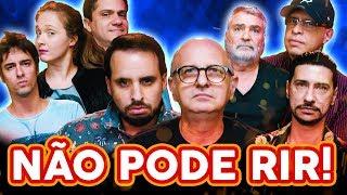 NÃO PODE RIR! com DUBLADORES - Sérgio Stern, Duda Espinoza, Mario Jorge e Marco Ribeiro