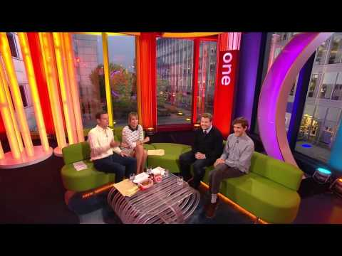 Alex Jones - The One Show 24Sep2013 [HD]