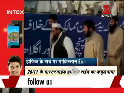 Jud Support Pak Army's 'jihad' In Kashmir: Hafiz Saeed video