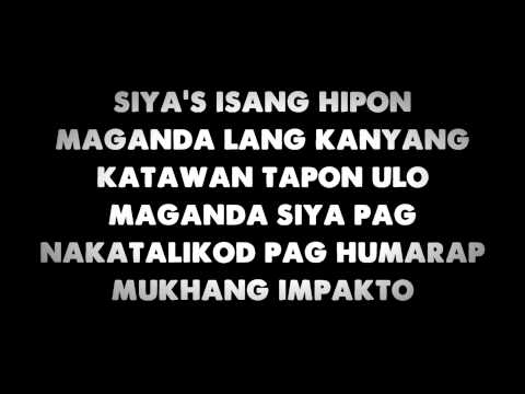 Hipon - Sir Rex Kantatero Feat. Shehyee *lyrics* video