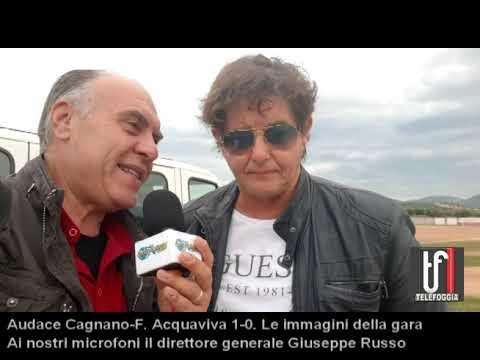 Cagnano-F. Acquaviva 1-0 Le immagini e l'intervista a Giuseppe Russo 24-9-19
