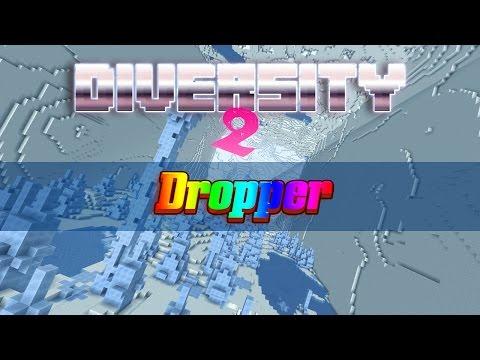 Minecraft Diversity 2: Ε01 - The Dropper W  Captainpanez & Gfantom video