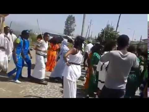 Ethiopia -- University Students Celebrating Culture Day