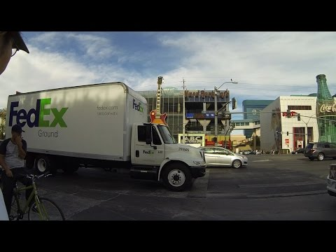 Chris Christie FedEx Legal Alien Immigration Trucks, Las Vegas, Nevada, 5 August 2015