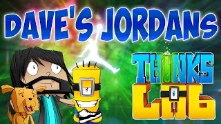 DAVE'S AIR JORDANS!! | Think's Lab Minecraft Mods [Minecraft Roleplay]