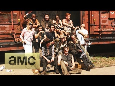 Greeting From Set: The Walking Dead: Season 5 video