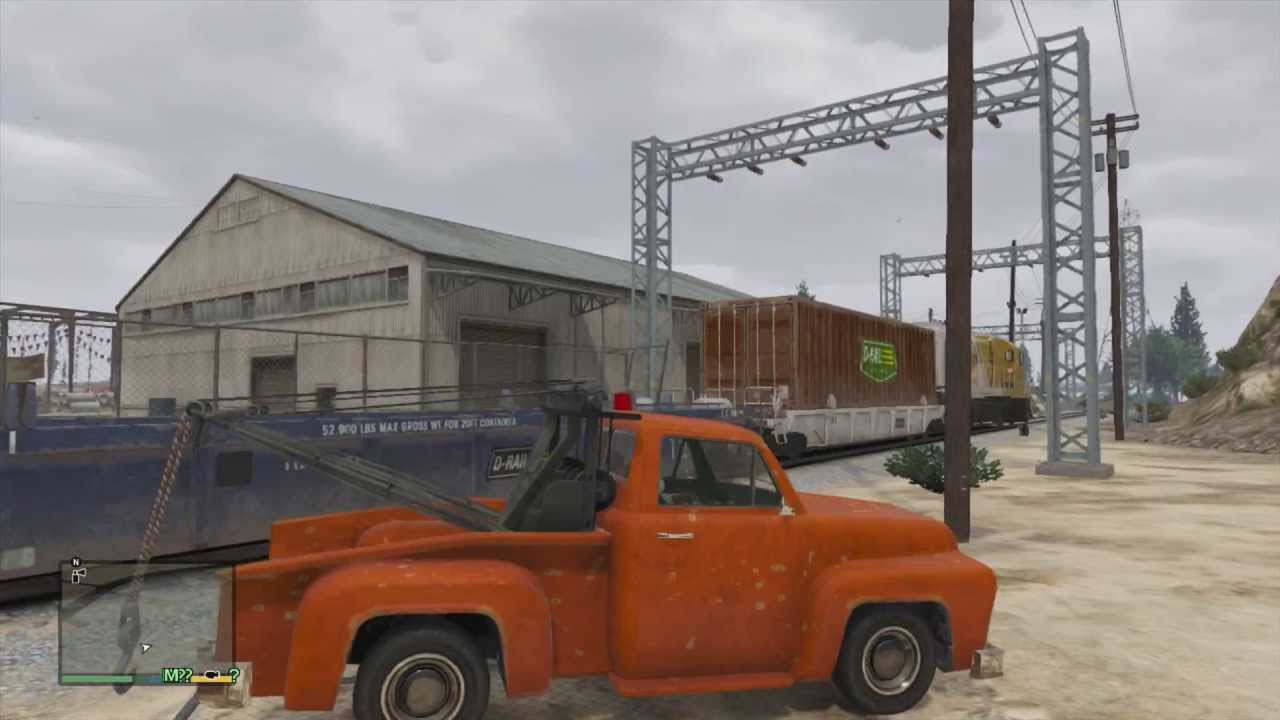 Tow Truck Location Gta 5 Online Gta v Tow Truck Location