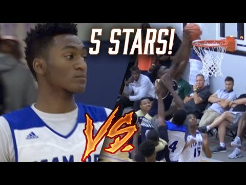 Zion Williamson vs 5 STAR PG Immanuel Quickley! Adidas ELIMINATION GAME!
