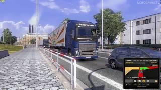 Euro Truck Simulator 2 - Volvo FH16 Gameplay