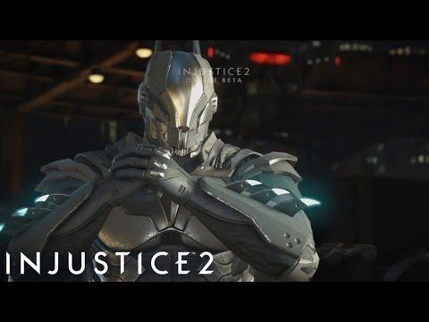 Injustice 2 Online Beta - Vman's Online Matches with Batman