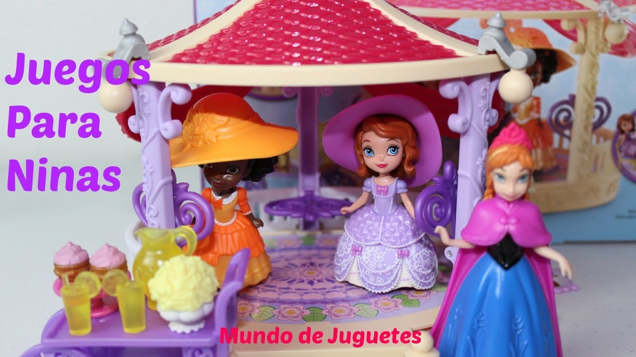 Juguetes de sofia the first jardin magico con ana de for Juguetes de jardin