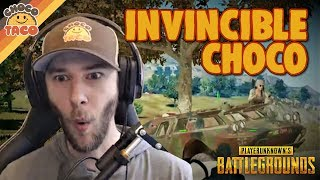 chocoTaco is Feeling Invincible Today - PUBG Gameplay