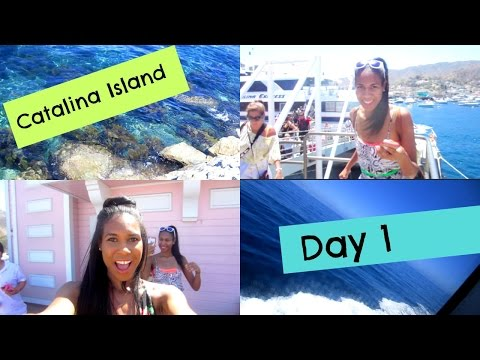 Taking on Catalina Island!| Vacation Vlog Day 1