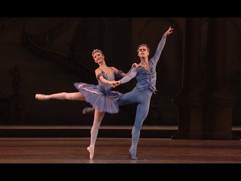 The Sleeping Beauty Bluebird and Princess Florine pas de deux closing section (The Royal Ballet)