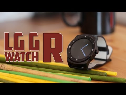 LG G Watch R, Review en Espa�ol