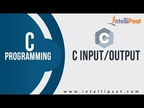 C Input/Output Tutorial  | C programming language | C Language Tutorial | Intellipaat