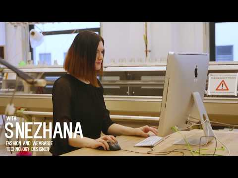 The Use of 3D Printing + Fashion Design| Snezhana Paderina| Fashion & Wearable Technology Designer