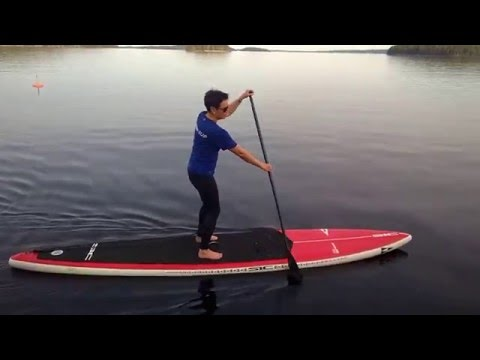 SIC Air-Glide Bullet 14.0(DSC) board and Eligo-SUP paddle
