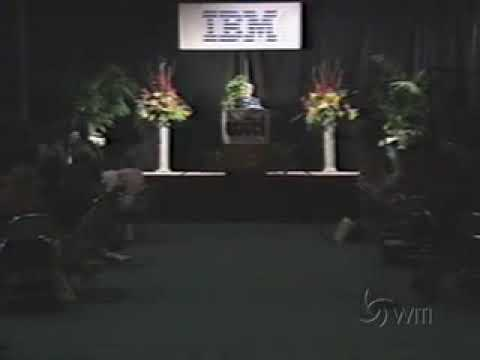 Dr. Sheila Widnall: WITI Hall of Fame 1996 Induction Video - Women In Technology International