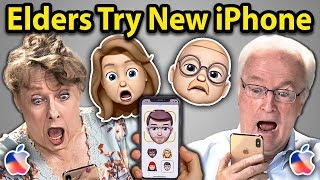 Elders Try To Use New iPhone XS | Elders React