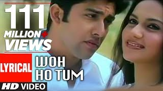 Woh Ho Tum Lyrical Video | Muskaan | Sonu Nigam, Anuradha Paudwal