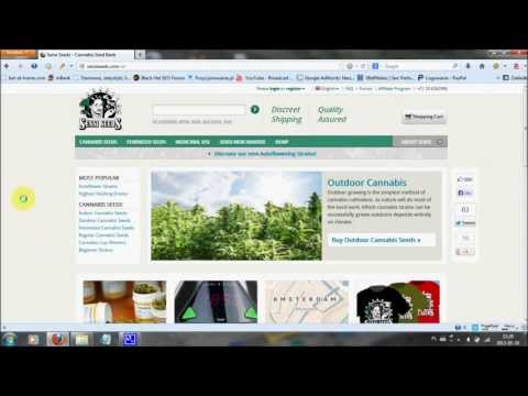 Marijuana seeds from Sensi Seed bank online