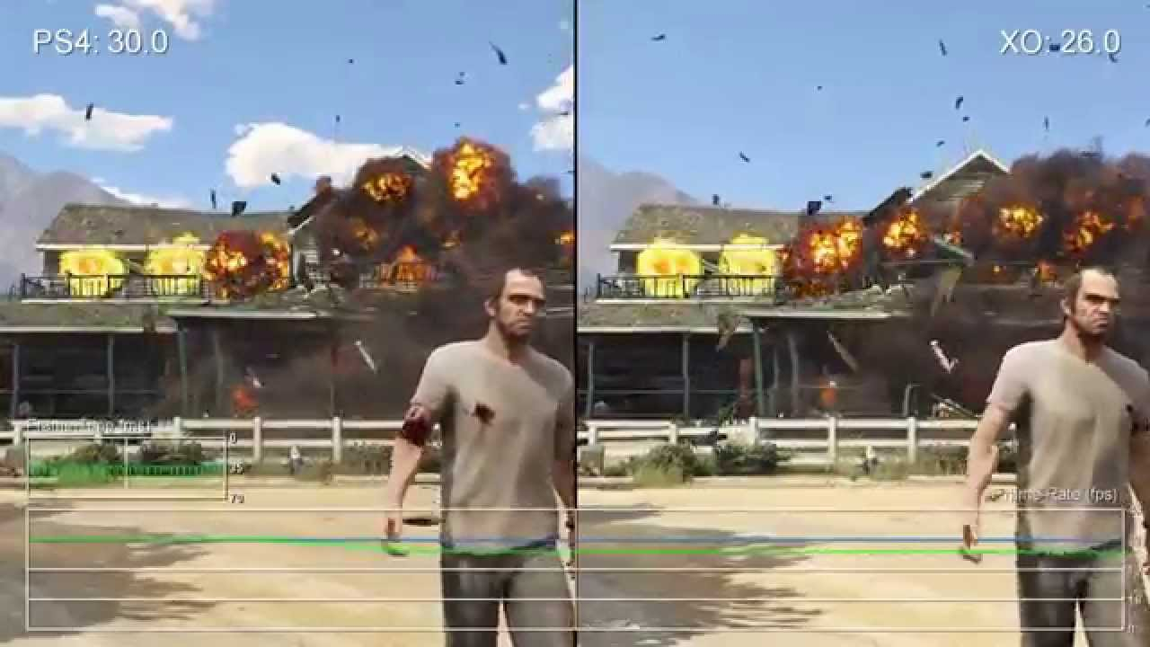 grand theft auto v gta 5 5 ps4 vs xbox one youtube. Black Bedroom Furniture Sets. Home Design Ideas