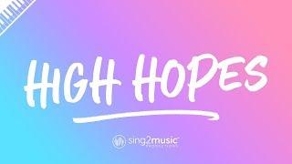 High Hopes Piano Karaoke Instrumental Panic At The Disco