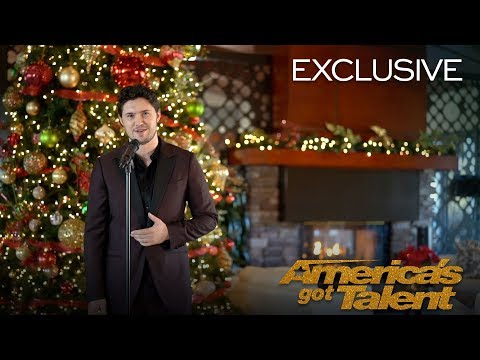 O Holy Night, A Powerful Cover By Daniel Emmet  - America's Got Talent 2018