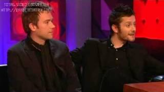 Damon Albarn & Jamie Hewlett (Gorillaz) on Jonathan Ross PART 1 of 3