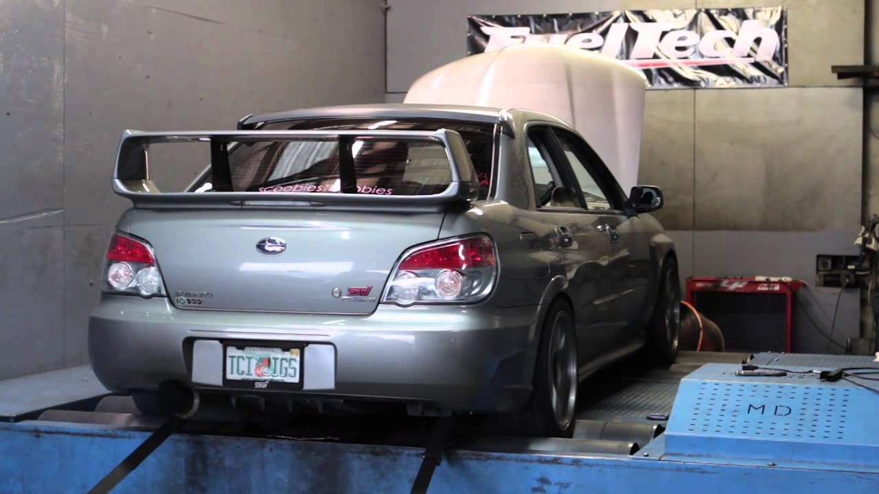 Circuit Motorsports Tuned - 2006 Subaru STI - Stock Turbo ...