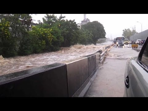 EXCLUSIVE HD VIDEO of Flood Disaster in Mauritius 30 March 2013 Video 2 (HD)